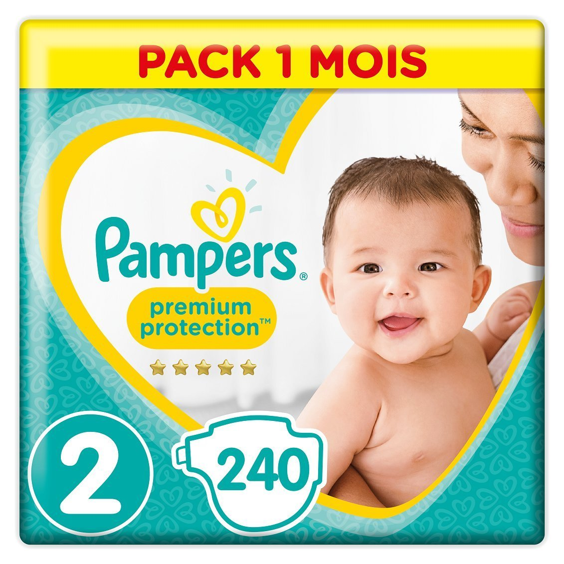 couches pampers sur amazon